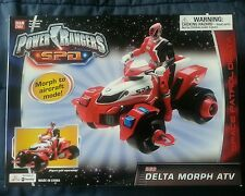 POWER RANGERS SPD RED DELTA MORPH ATV MISB SEALED FREE S/H