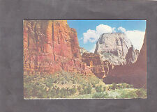 C1950's View of the Great White Throne, Zion National Park, Utah , USA