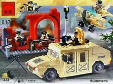 Enlighten Brick #817 Hummers 323 Pieces Compatible Bricks