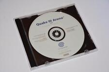 Sega Dreamcast ~ Quake III Arena ~ White Label Promo ~ * Disc Only*