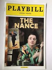 The Nance - June 2013 Playbill - Nathan Lane, Cady Huffman, Andrea Burns