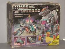 G1 TRANSFORMER DECEPTICON TRYPTICON EMPTY BOX