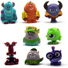 Lot 8 Disney Monsters University Imaginext Mike Series 1.5'' Figures Kids Toys