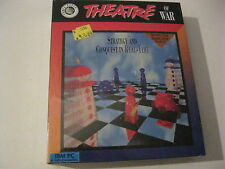 Theatre Of War New factory sealed PC game 3.5' disk Three-Sixty Pacific 1992