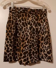 NWOT Women's TAKE SIX ANIMAL PRINT Shorts Size US 4 Waist 25""