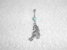 Panther Tiger Bengal Cat Charm Belly Button Navel Ring Body Jewelry Piercing