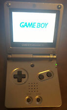 Onyx Black Nintendo Game Boy Advance SP 101 Brightest Model! Bundled Charger!