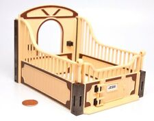 Playmobil Horse Ranch Farm Cream Yellow Brown Stable Stall 5518 5519