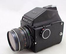 Mamiya M 645 J, vintage 6x4.5 camera, prism finder, lens Sekor C 2.8/80mm