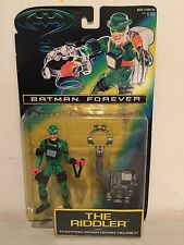 BATMAN FOREVER THE RIDDLER WITH TRAPPING BRAIN-DRAIN HELMET BRAND NEW RARE!