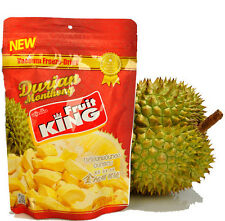 Fruit King Vacuum Freeze Dried Durian Monthong Chunk 100g.