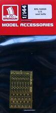 Brengun BRL144005 1/144 PE U.S. seat belts (8 pcs.)