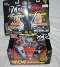 LOT OF 3 RACING CHAMPIONS '99 WCW NITRO STREETRODS MAIN EVENT/HENNIG/LUGER 1:64