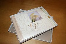 NEW HALLMARK WEDDING GUEST BOOK ALBUM LILLY ON THE COVER W/ PEN