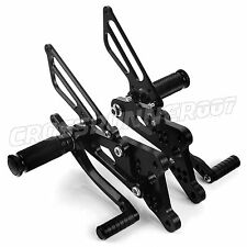 For Yamaha YZF R6 03-05 New Racing Adjustable CNC Rearsets Foot Pegs Rear Set