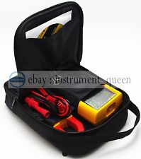 Soft Case/Bag Use For Oscilloscope Multimeter FLUKE 123 124 125