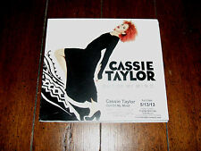 Cassie Taylor - Out Of My Mind 2013 Rare Advance Promo CD NM Otis