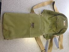 Dated wartime gas mask haversack war dated gask mask case British Army