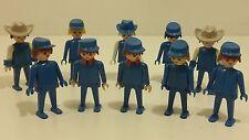 Playmobil Vintage Cavalry Soldiers Fort Western Geobra Figures 1974 #1