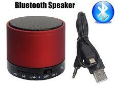 ROSSO Bluetooth Wireless Portable Mini Altoparlante rechargble per iPhone iPad Mp3 NUOVA