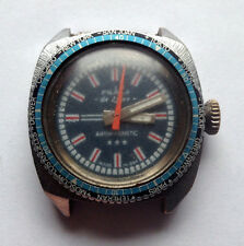 RUHLA WORLD TIME de luxe - rare vintage Germany man's watch