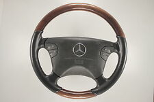 Wood steering wheel - Mercedes benz W208 CLK W210 Facelift (084)