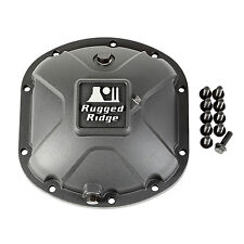 Rugged Ridge Boulder Aluminum Dana 30 Jeep JK TJ Differential Cover (16595.13)