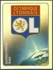 PANINI UEFA CHAMPIONS LEAGUE 2011-12- #226-LYON TEAM BADGE-SILVER FOIL
