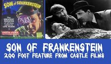 SON OF FRANKENSTEIN 200 FOOT SUPER  8mm CASTLE HORROR HOME MOVIE MONSTER FILM