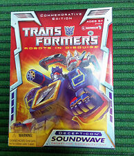 Transformers Commemorative Edition Soundwave NEW