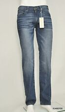 Nwt $89 Guess LINCOLN Slim Straight Leg Denim Jeans Pants Altitude 2 Wash *30-32