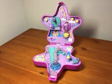 Vintage Polly Pocket Pink Light-Up Fairy Star Compact Bluebird 1993 (no lights)
