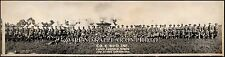 1917 WWI Camp Canfield Himes, Canton OH, Co. C Vintage Panoramic Photo