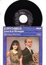 """7"""" Eurythmics - Love is a Stranger"""