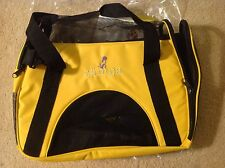 Dog Pup Kitty Cat Pet Carrier Tote Airplane Airline Travel Storage Bag Case