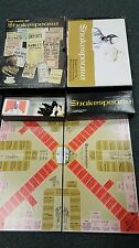 Vintage Avalon Hill Book Case Game The Game Of Shakespeare 1966