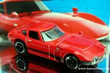2013 Hot Wheels #176 HW Showroom Toyota 2000 GT red