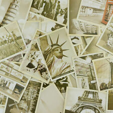 Lot of 32 Travel Vintage Postcard Landscape Photos Pictures Poster Can Be Mailed