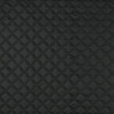 G350 Black Matte Diamonds Upholstery Faux Leather By The Yard