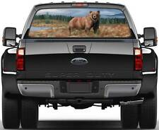 Bear Grizzly  Rear Window Graphic Decal Sticker Truck SUV Van Car