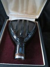 TESLA 516002 RARE VINTAGE CZECH CRYSTAL MIC WITH CASE, UPDATED W/XLR CONNECTOR