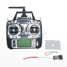 Flysky FS-T6 2.4GHz 6CH Transmitter Radio Mode 2 W/ R6-B Receiver For Multirotor