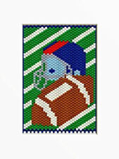Time For Football Beaded Banner Pattern