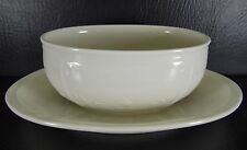 Villeroy & Boch Cortina 2000 Gravy Boat with Attached Under Plate White
