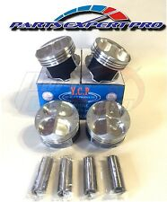YCP 81MM HIGH COMPRESSION PISTONS ACURA INTEGRA CIVIC SI TYPE R B16 B18