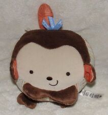 Fisher Price Plush Monkey Ball Snugamonkey  Giggle Gang Chime Rattle Baby Toy