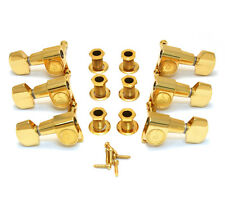 Schaller Gold M6 Mini 3x3 Tuners for Gibson Les Paul/SG® Guitar TK-7973-002