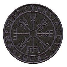 Vegvisir Viking Compass dark ACU embroidered tactical morale sew iron on patch