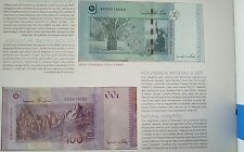 CCY~RM1, RM5, RM10, RM50, RM100 Premium SET Malaysia BANKNOTE,UNC,Same No0018088