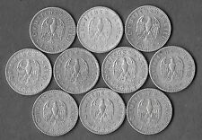 1935 Scarce Antique WW2 German WWII Nazi Germany Eagle WAR Coin Collection Lot